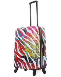 "Halina Bee Sturgis Serengeti Reflections 28"" Hard Side Spinner Suitcase - Multicolor"