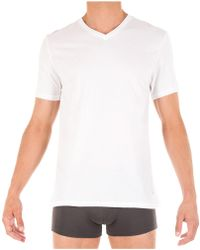 Tommy Hilfiger Classic V-neck Tee, 3 Pack - White