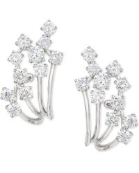 Effy Collection - Diamond Earrings (7/8 Ct. T.w.) In 14k White Gold - Lyst