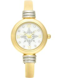 Charter Club Two-tone Bangle Bracelet Watch 28mm, Created For Macy's - Metallic