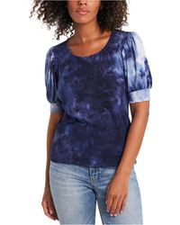 1.STATE - Tie-dyed Top - Lyst
