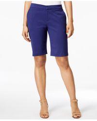 G.H.BASS - Jacquard Bermuda Shorts - Lyst