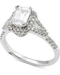 Marchesa Diamond Engagement Ring (1 Ct. T.w.) In 18k White Gold - Metallic