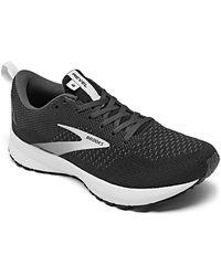 Brooks Revel 4 Running Sneakers From Finish Line - Black