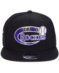 online store 04970 f95cf KTZ - Colorado Rockies Swoop 9fifty Snapback Cap - Lyst