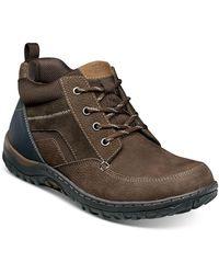 Nunn Bush Quest Rugged Chukka Boots - Brown