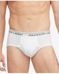 Polo Ralph Lauren 2-pack Big & Tall Cotton Briefs - White