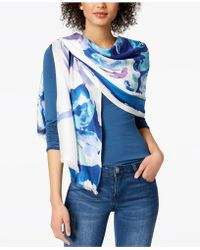 INC International Concepts - Inked Iris Wrap, Created For Macy's - Lyst