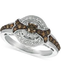 Le Vian - Chocolatier® Diamond Ring (5/8 Ct. T.w.) In 14k White Gold - Lyst