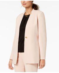 Calvin Klein - One-button Blazer - Lyst