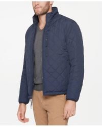 Marc New York - Fillmore Quilted Sherpa Fleece-lined Jacket - Lyst