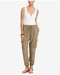 Denim & Supply Ralph Lauren - Sleeveless Henley Bodysuit - Lyst