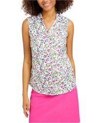 Charter Club Petite Floral-print Shirt, Created For Macy's - Multicolor