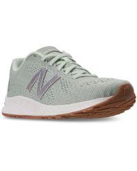 New Balance - Women's Fresh Foam Arishi Running Sneakers From Finish Line - Lyst