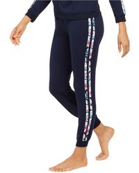 Vera Bradley Go Faster French Terry Lounge Jogger Pants, Online Only - Blue