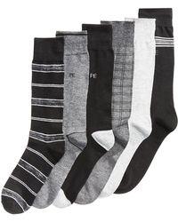 Perry Ellis - 6-pk. Performance Dress Socks - Lyst