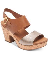 Rockport - Vivianne Wedge Sandals - Lyst