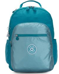 Kipling Seoul Go Backpack - Blue