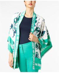 Alfani - Printed Short Kimono Jacket, Created For Macy's - Lyst