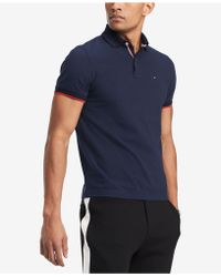 Tommy Hilfiger - Men's Tailored-fit Cotton Polo - Lyst