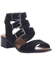 Madeline Girl Dragon Fly Dress Sandals - Black
