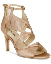 Rialto - Ria Colorblocked Dress Sandals - Lyst