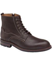 Johnston & Murphy Fullerton Plain-toe Boots - Brown