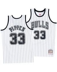 08180fcd1 Mitchell   Ness - Scottie Pippen Chicago Bulls Concord Collection Swingman  Jersey - Lyst