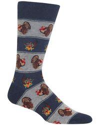 Hot Sox - Turkey Fair Isle Socks - Lyst
