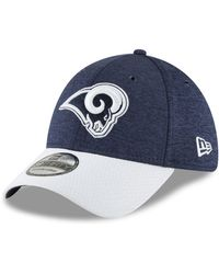 huge discount fc45f df11a KTZ Los Angeles Rams Training Camp Reverse Bucket Hat in White for Men -  Lyst