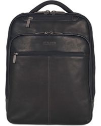 """Kenneth Cole Reaction - Ez-scan Colombian Leather 16"""" Computer Backpack - Lyst"""