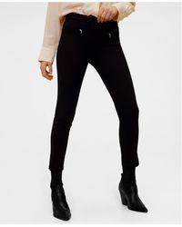 Mango - Zip-pocket Slim-fit Trousers - Lyst