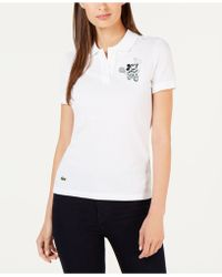 Lacoste - Minnie Mouse Polo Top - Lyst