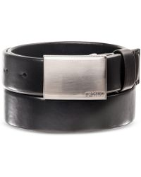 Kenneth Cole Reaction - Men's Plaque Tubular Belt - Lyst