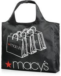 Macy's Reusable Shopping Bag - Black
