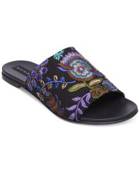 Steven by Steve Madden - Women's Cushion Embroidered Sandals - Lyst