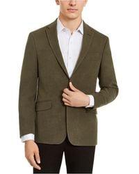Kenneth Cole Reaction Slim-fit Ultrasuede Sport Coats, Online Only - Green