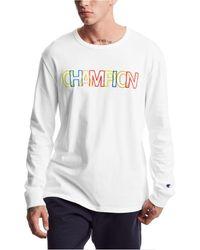 Champion Heritage Long-sleeve Shirt - White
