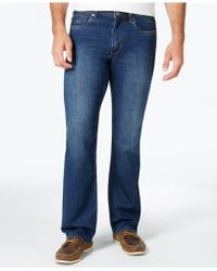 Tommy Bahama Men's Cayman Relaxed-fit Dark Wash Jeans - Blue