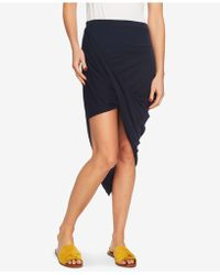 1.STATE - 1. State Asymmetrical Wrap Skirt - Lyst