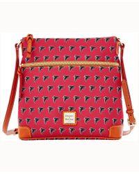 Dooney & Bourke - Atlanta Falcons Crossbody Purse - Lyst