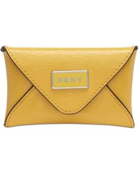 DKNY Gigi Leather Envelope Card Case, Created For Macy's - Multicolor