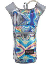 Jansport Printed Hydration Backpack - Blue