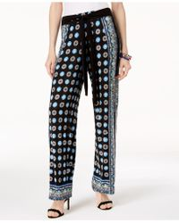 INC International Concepts - I.n.c. Petite Printed Pull-on Pants, Created For Macy's - Lyst