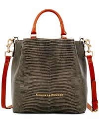 Dooney & Bourke - Small Barlow Embossed Leather Tote - Lyst