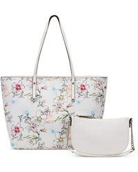 INC International Concepts Inc Zoiey 2-for-1 Tote, Created For Macy's - White