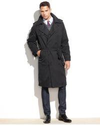 London Fog Coat, Iconic Belted Trench Raincoat