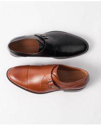 Johnston & Murphy - Men's Hernden Single Monk Cap-toe Loafers - Lyst