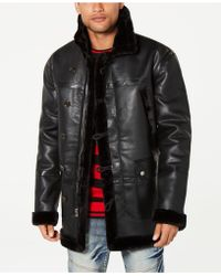 Reason - Jacket With Faux-fur Lining - Lyst