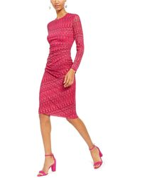 INC International Concepts - Inc Geometric Print Midi Sheath Dress, Created For Macy's - Lyst